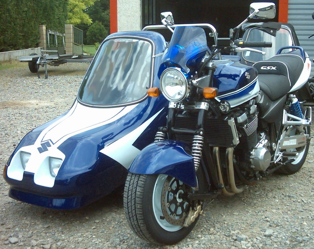 sidecar occasion - 1400 gsx Scope 2
