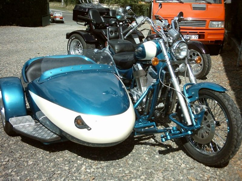 sidecar occasion - 1400 intruder boxer