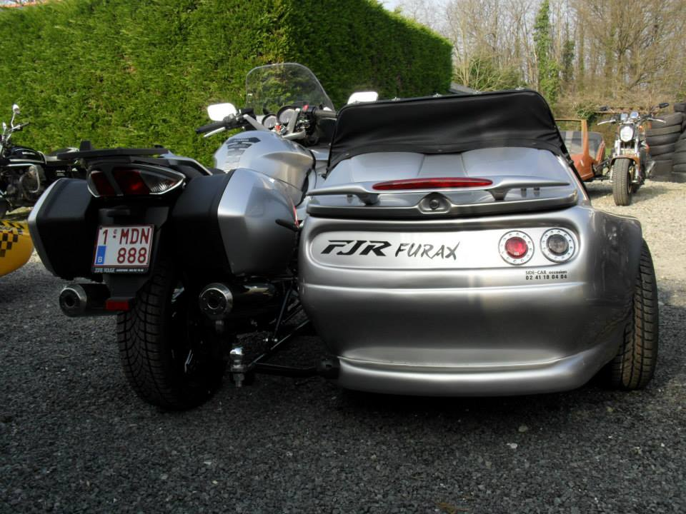 Yamaha Side By Side >> SIDE-CAR Occasion et neuf . - Montage de Side-car