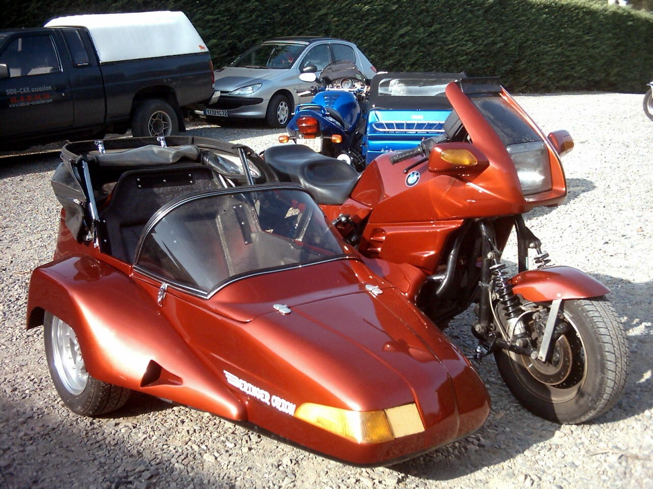 sidecar occasion - K100 RS ORION