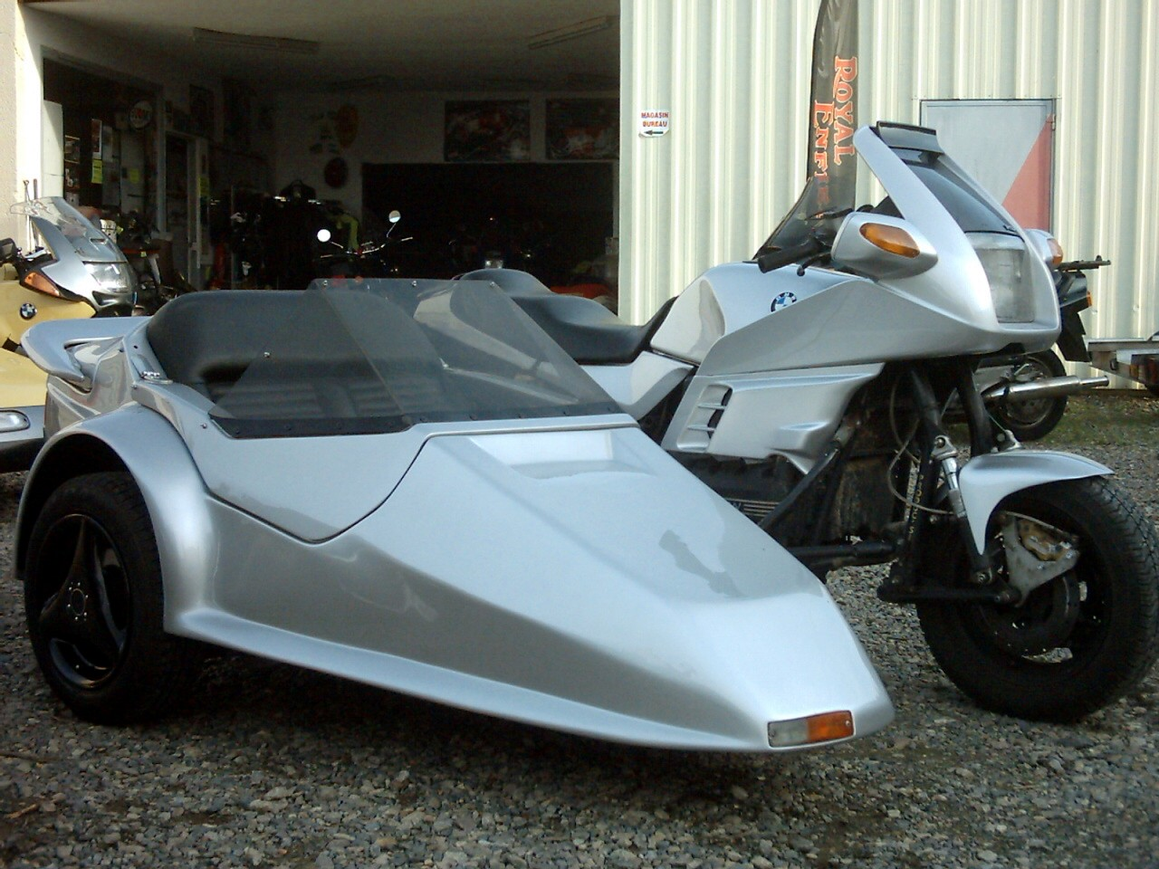 sidecar occasion - K100 RS WEB